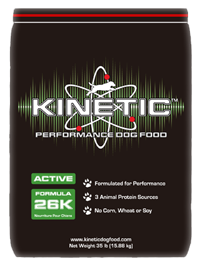 Kinetic Active 26K performance dog food