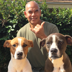 Rusty Radona Ike Loa Canine