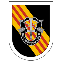 5th Special Forces Group Crest