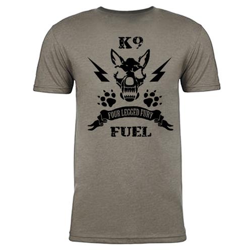 Kinetic K-9 T-Shirt Stone Back