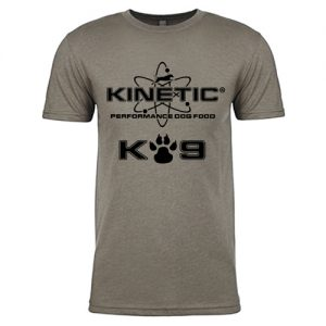 Kinetic K-9 T-Shirt Stone Front