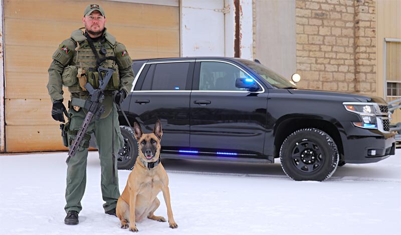 Police K-9 Tasja