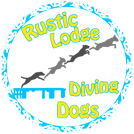 Rustic Lodge Diving Dogs